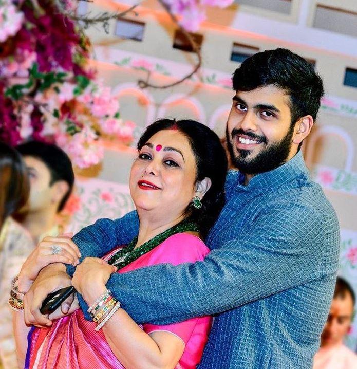 Tina Ambani and Anshul Ambani
