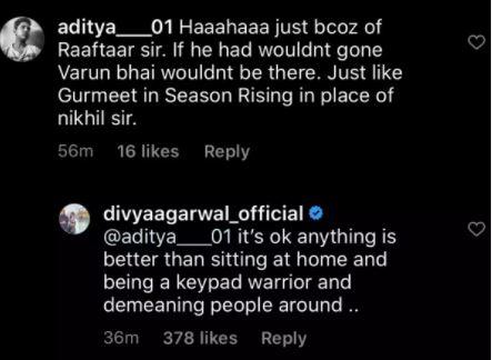Divya Varun Defend