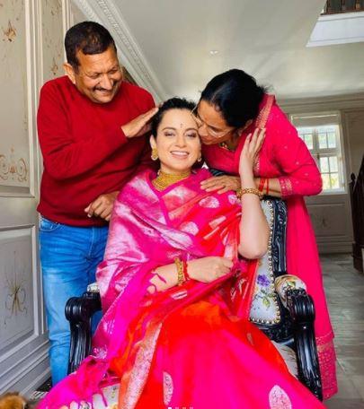 Kangana Ranaut family