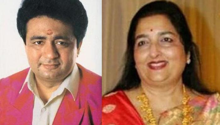 Anuradha Paudwal and Gulshan Kumar