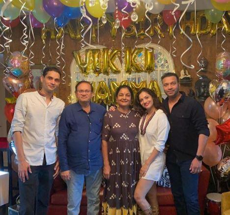 Ankita Lokhande Family