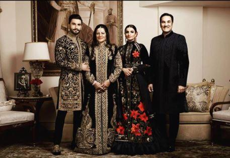Ranveer Singh Family