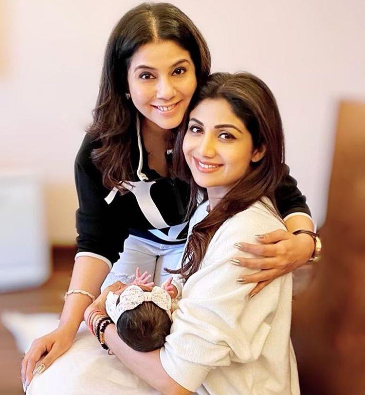 Shilpa Shetty Kundra and Samisha Shetty Kundra