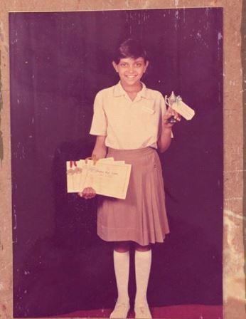 Deepika Padukone Childhood