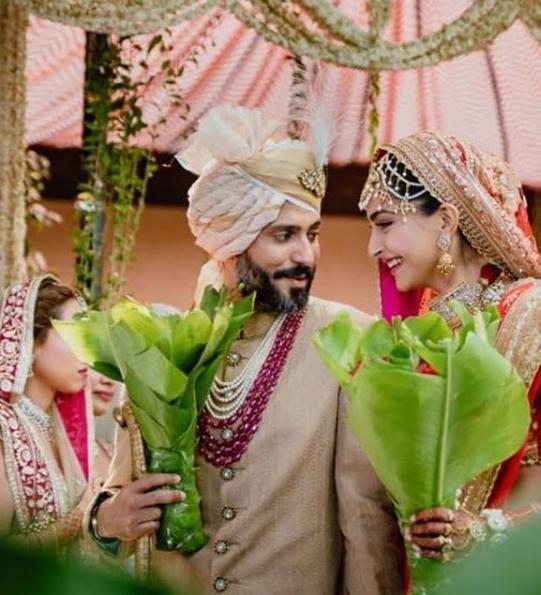 Sonam Kapoor Ahuja and Anand Ahuja