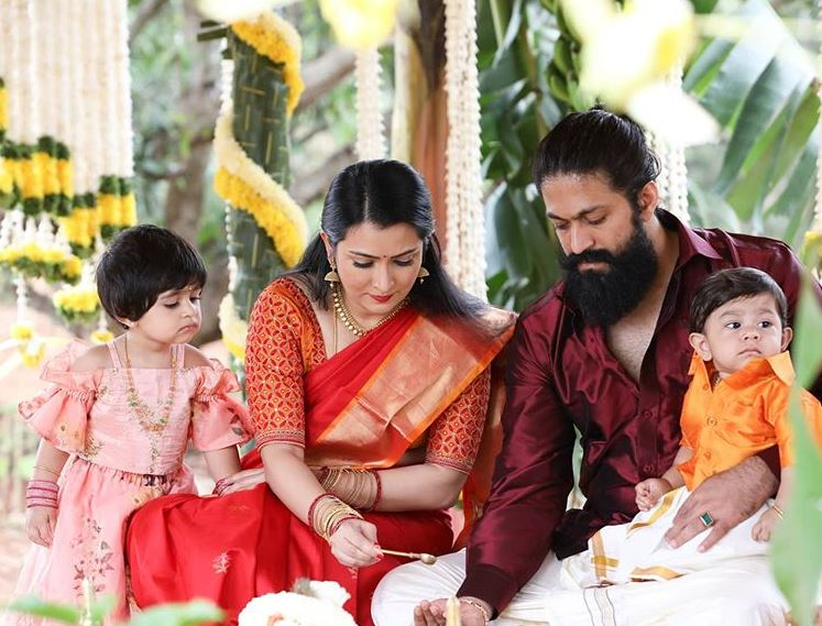 Yash et Radhika Pandit