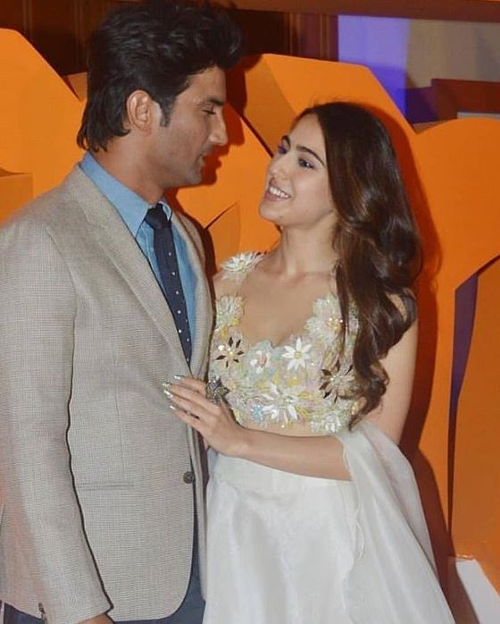 SSR and Sara Ali Khan