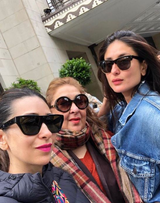 Karisma Kapoor Rima Jain and Kareena Kapoor Khan