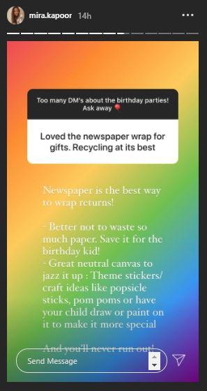 Mira Rajput Party Tips