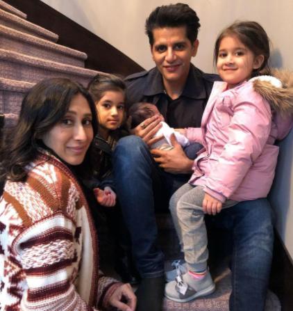 Karanvir Bohra Family