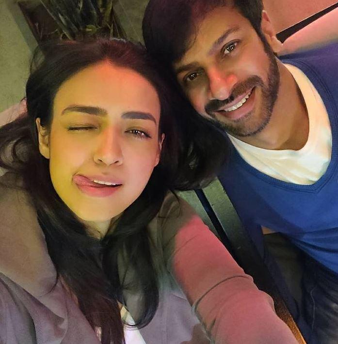 Karan Veer Mehra and Nidhi V Seth