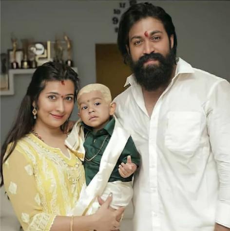 Yash Radhika Pandit Son