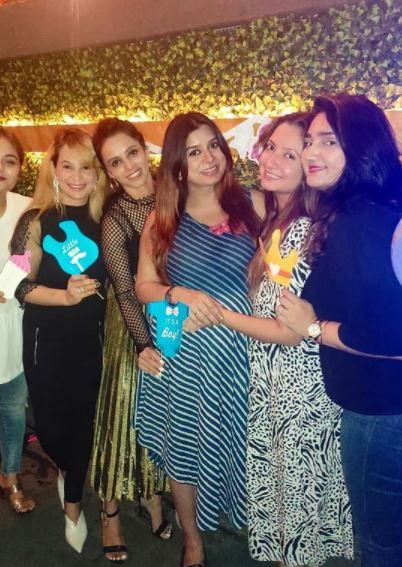 Naman Shaw Wife Pregnant Neha Mishra Shaw Baby Shower