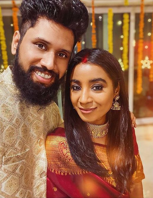 Shilpa Rao and Ritesh Krishnan