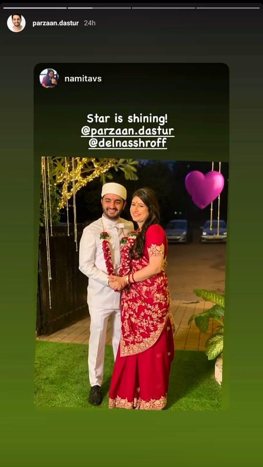 Parzaan Dastur and Delna Shroff
