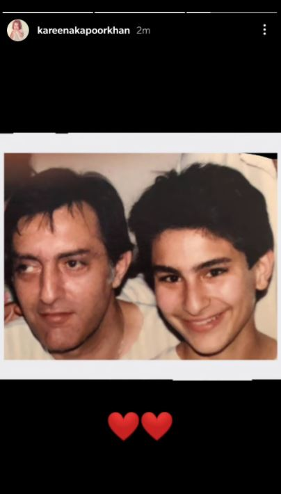 Mansoor Ali Khan Pataudi and Saif Ali Khan