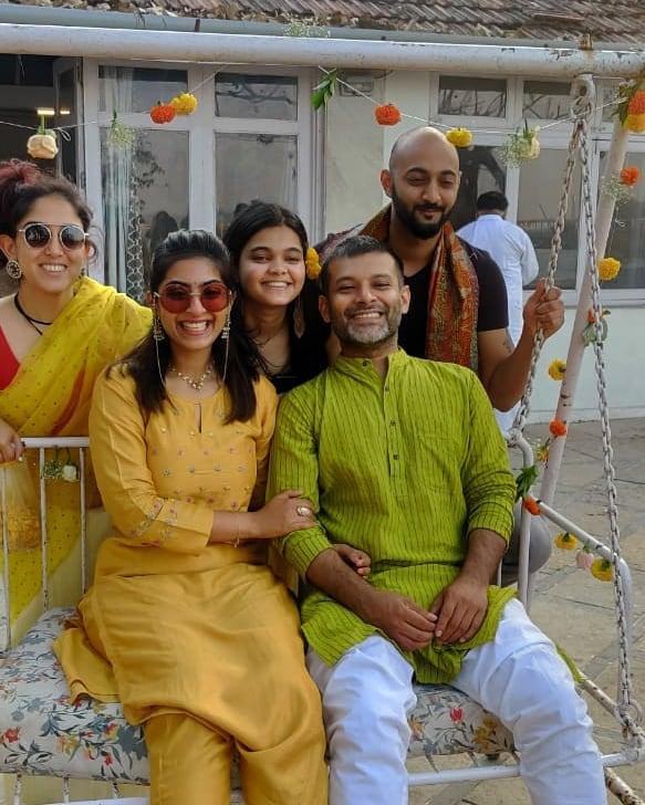 Ira Khan, Zayn Marie Khan and Abhishek Saha