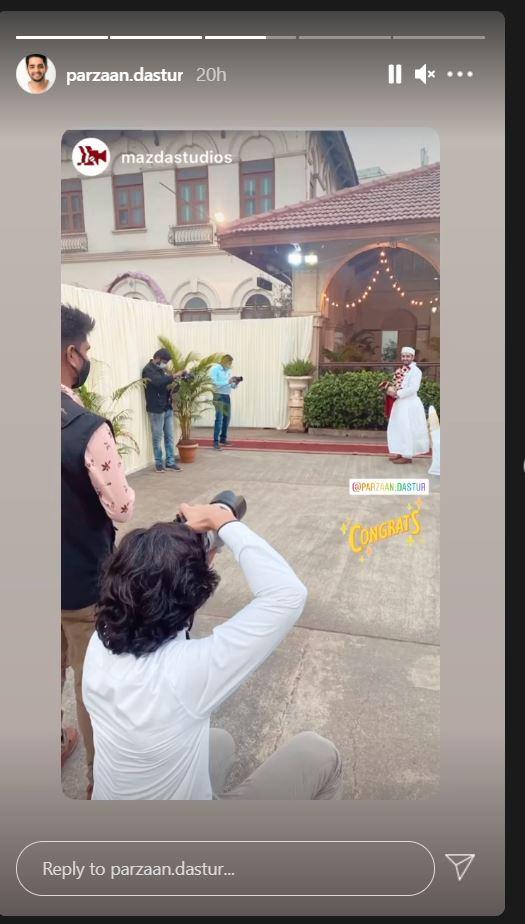 Parzaan Dastur wedding