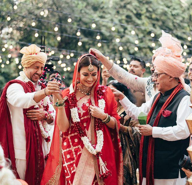 Dia Mirza and Vaibhav Rekhi