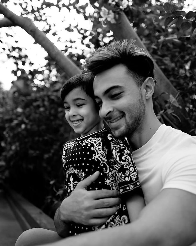 Aayush Sharma and Ahil Sharma