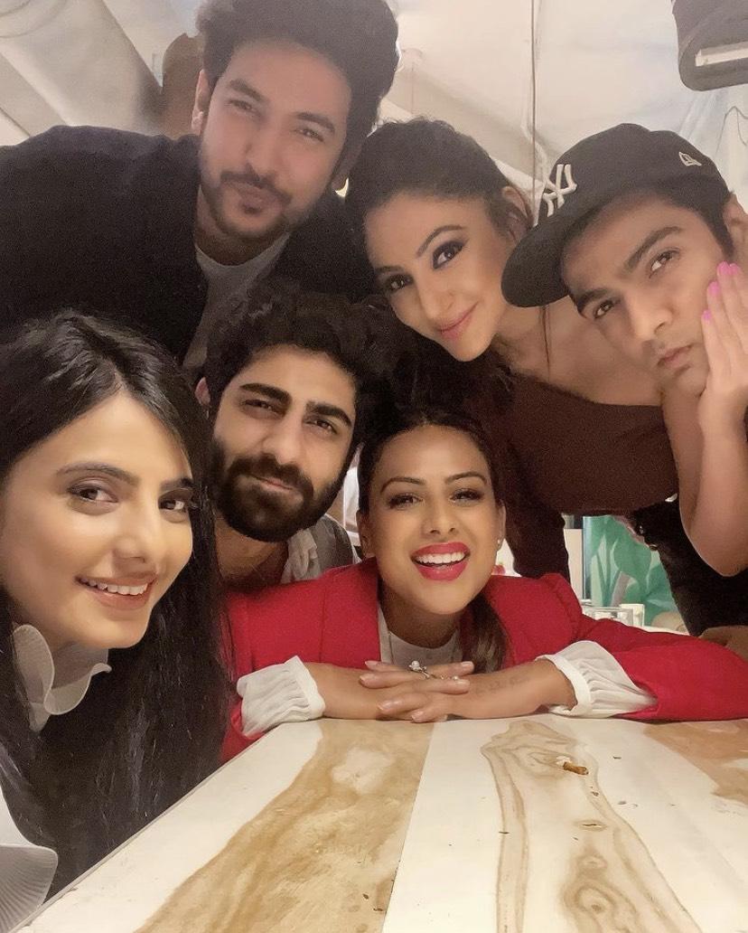 Nia Sharma Parties With Rrahul Sudhir