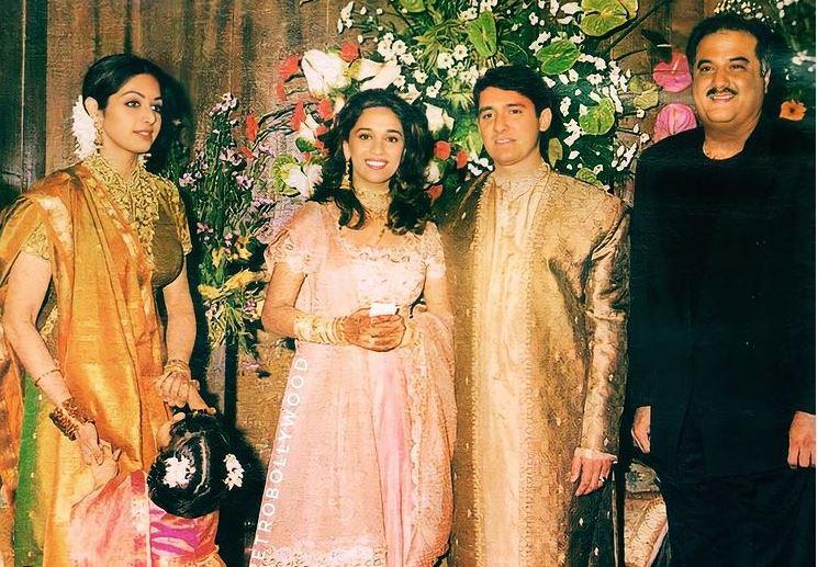 Madhuri Dixit wedding reception