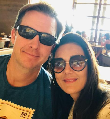 Preity Zinta Wishes Her Husband Gene Goodenough On His Birthday Pool Picture