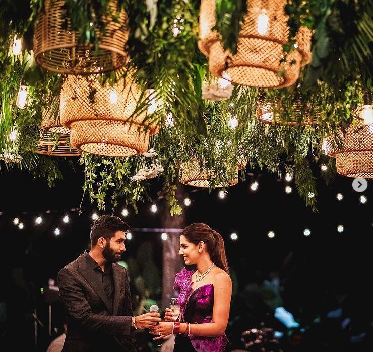 Jasprit Bumrah wedding reception