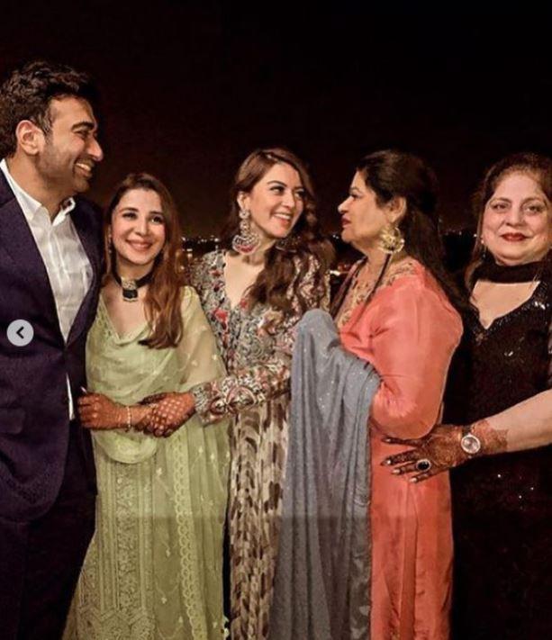 Muskaan Nancy wedding festivities