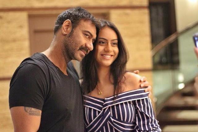 Ajay Devgn and Nysa Devgan