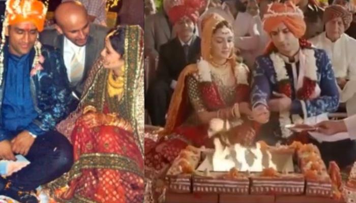 Mahendra Singh Dhoni and Sakshi Singh wedding