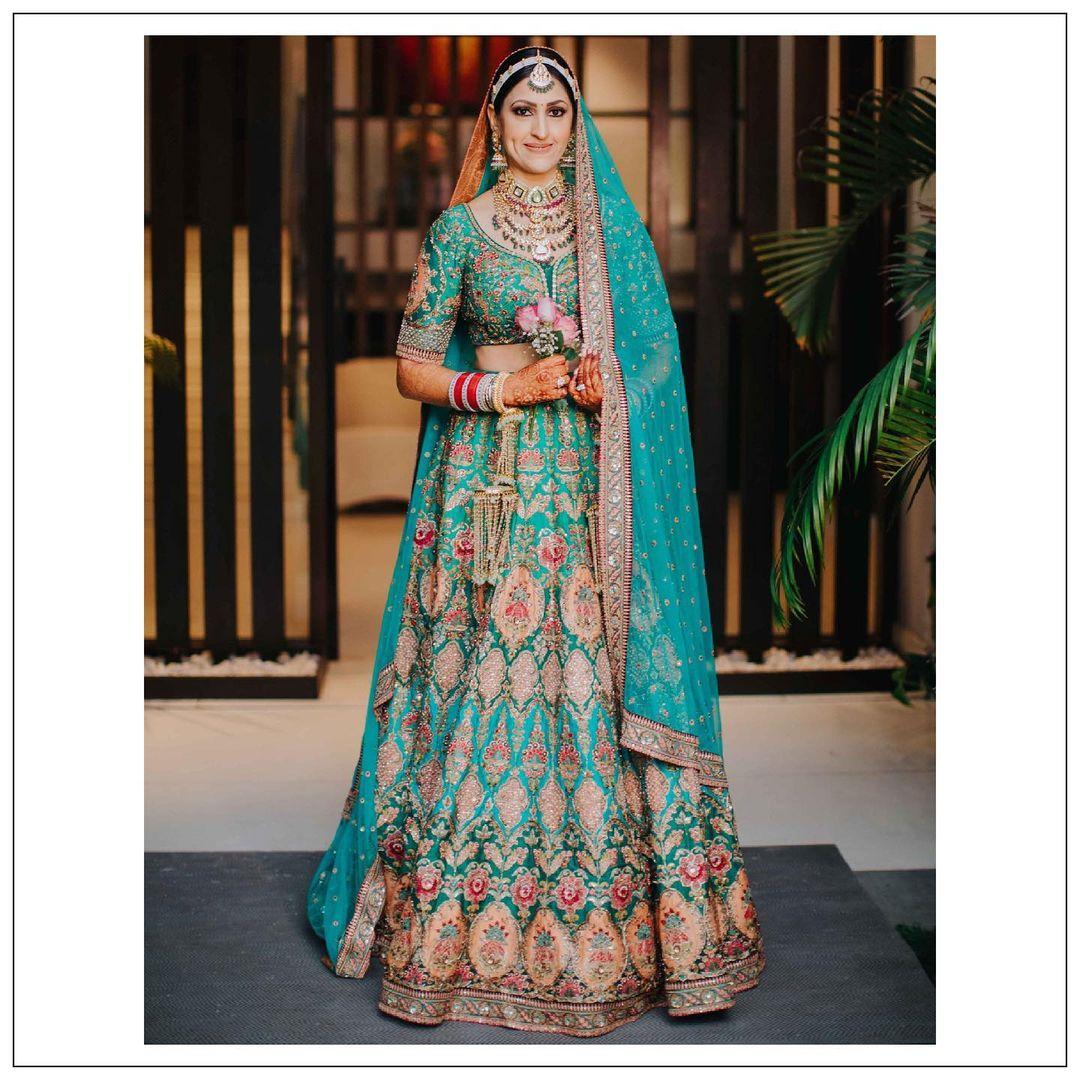 Sabyasachi Bride Harinsy Kaur
