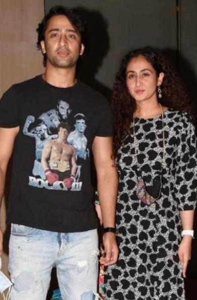 Ruchikaa Kapoor and Shaheer Sheikh