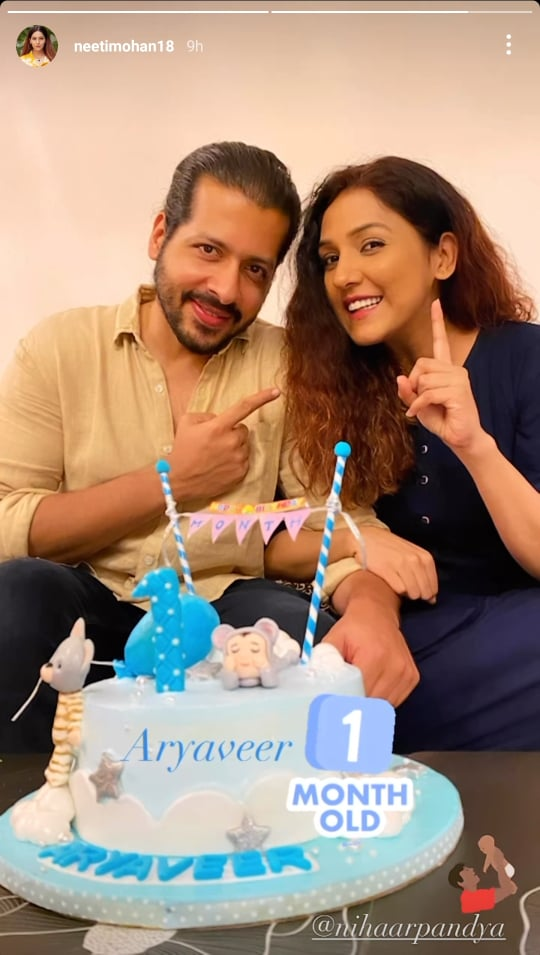 Neeti Mohan and Nihaar Pandya