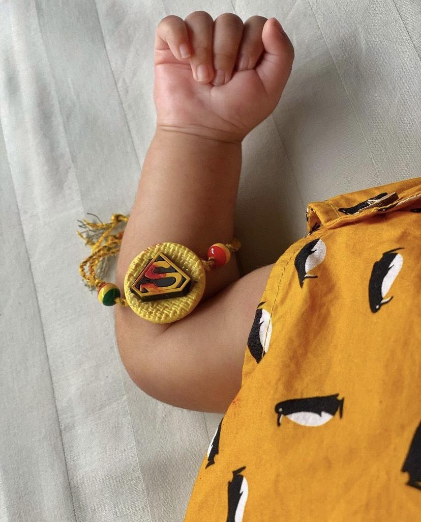 Neeti Mohan Son First Raksha Bandhan