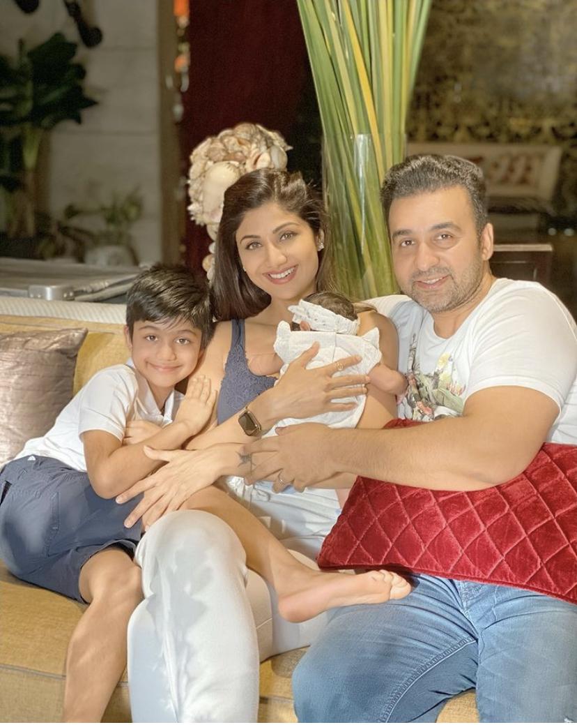 Shilpa Shetty Kundra Family