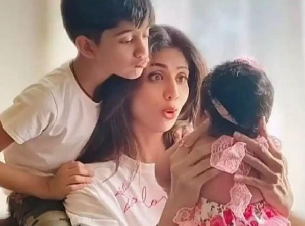 Shilpa Shetty Samisha Viaan