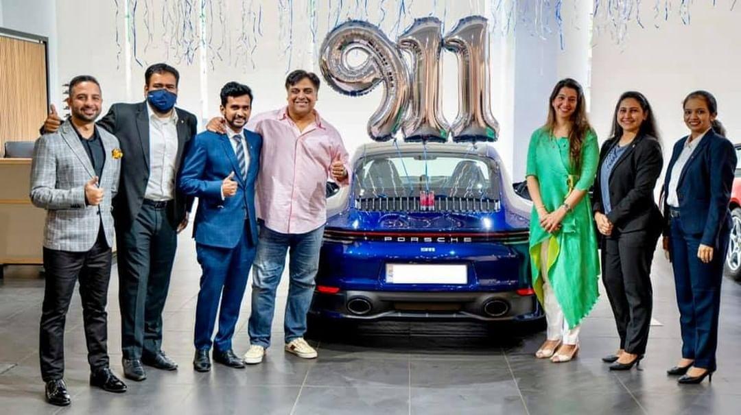El coche de lujo de Ram Kapoor