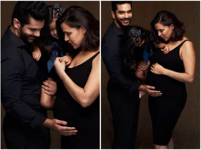 Angad bedi neha dhupia mehr second pregnancy