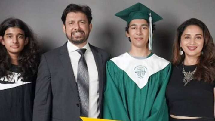 Arin on his graduation ceremony