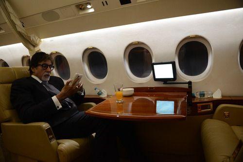 Amitabh Bachchan Private Jet