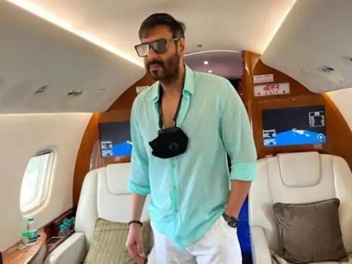 Ajay Devgan's private jet
