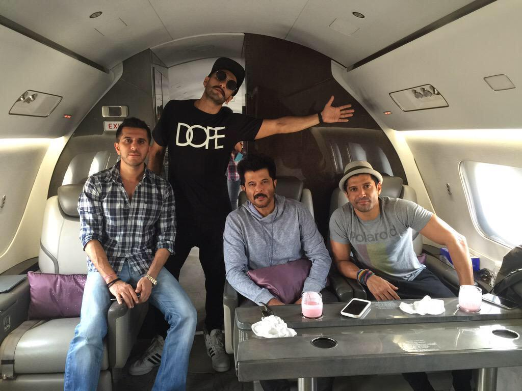 Private jet from anil Kapoor