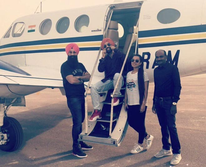 Private Jet from Diljit Dosanjh