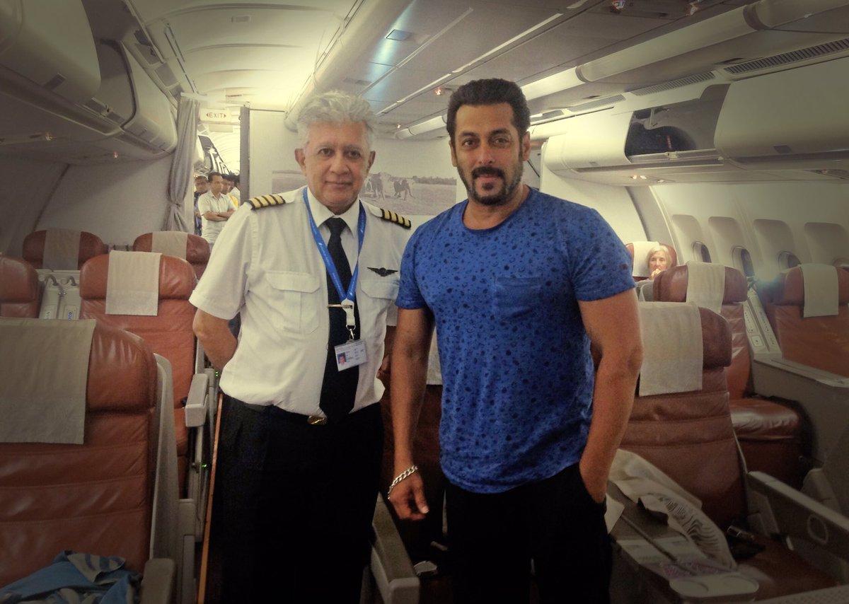 Salman Khan's private jet