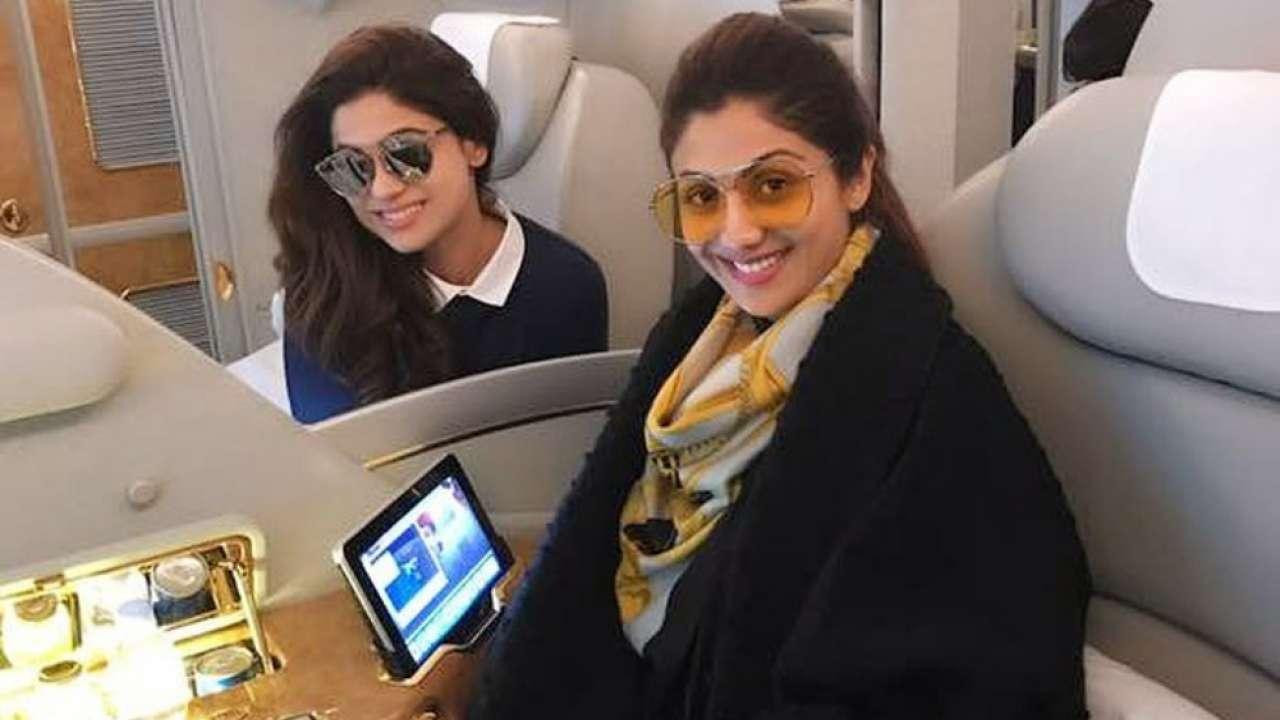 Shilpa Shetty's private jet