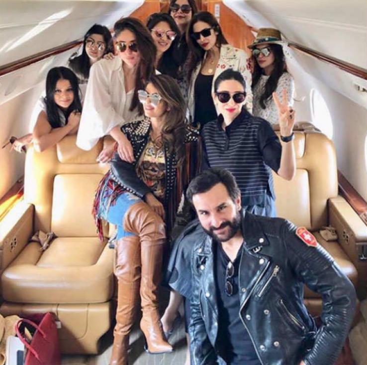 Saif Ali Khan's private jet