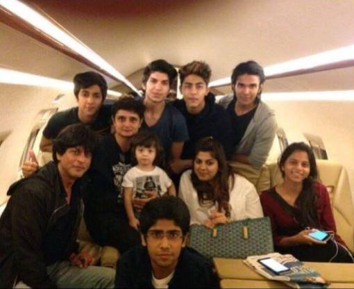 Shahrukh Khan's private jet