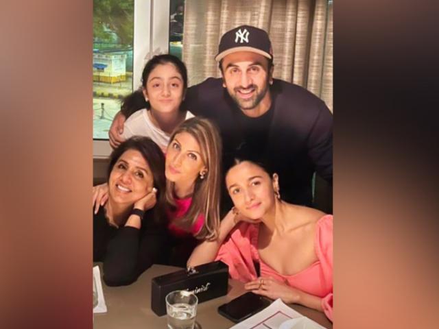 Ranbir with his family