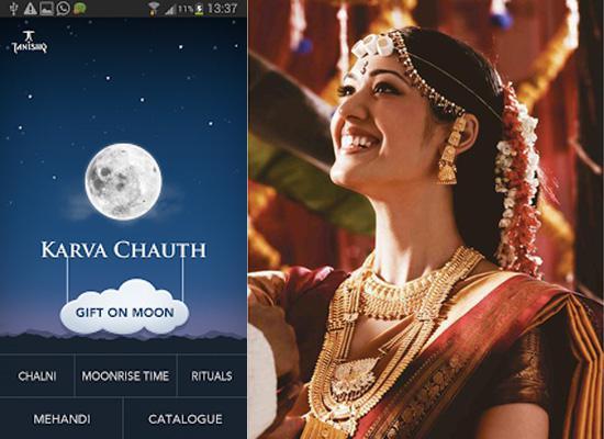 Tanishq's Mobile App Makes Karva Chauth Celebrations Easy